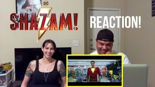 SHAZAM! Trailer # 2 | REACTION!!