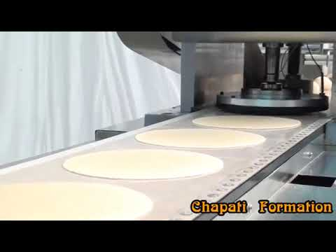 Fully-Automatic Chapati/ Arabic Chapati/ Pathiri  Making Machine