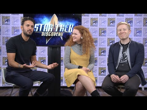 Star Trek: Discovery Cast 'Gobsmacked' By The New Trailer