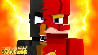 Minecraft HOW TO BECOME THE FLASH!!