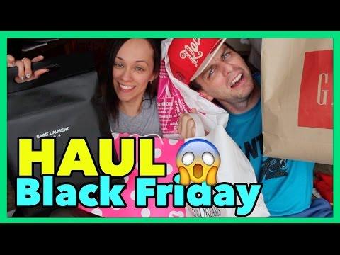 HAUL CON AARON! Compras de Black Friday en Houston