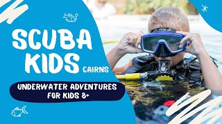 Trying scuba diving for the first time is safe and fun with Divers Den's new PADI endorsed program just for kids! I