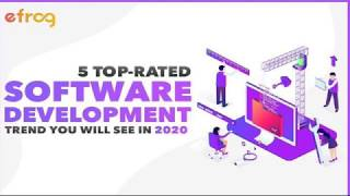 5 Top rated Software Development Trend You Will See in 2020