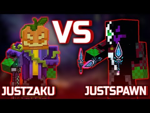 Pixel Gun : JustZaku VS JustSpawn [Versus Battle] Part.1