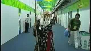 preview picture of video 'PANDA JADAS OLIMPICAS - EUGENIO DERBEZ & OMAR CHAPARRO BEIJING 2008'
