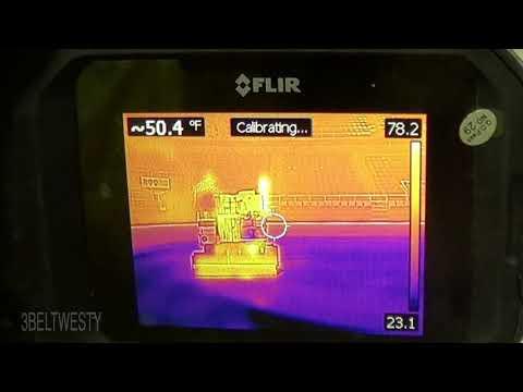 FLIR C2 ZAMBONI 500 is hotter than the ice