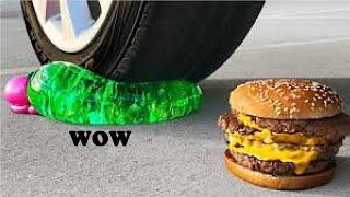 Zdrobeste un meniu de la McDonald cu masina?! - Reactie
