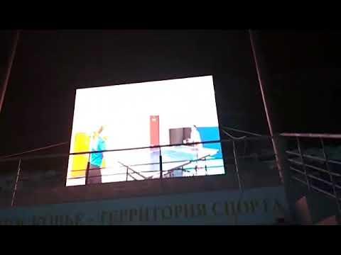 Видеоэкраны уличные