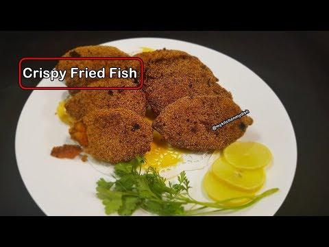 Crispy Fried Fish Recipe | Surmai Fish Crispy Fried| My Kitchen My Dish