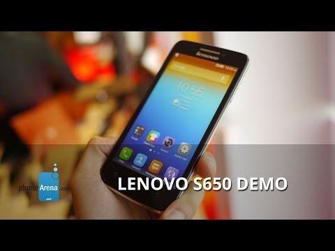 Lenovo S650 demo