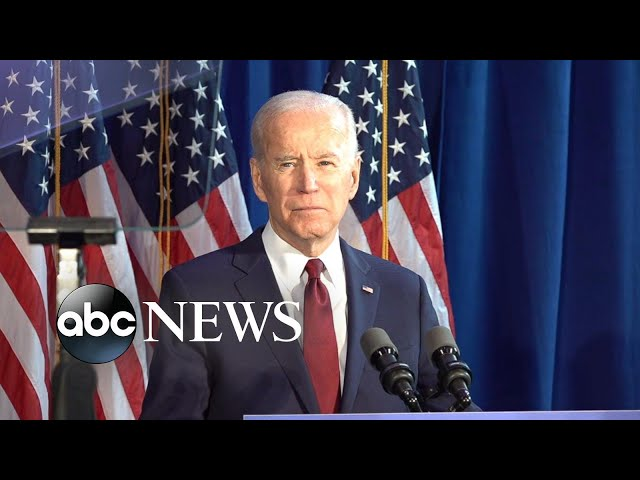 Trump does not have authority to start war with Iran: Biden l ABC News