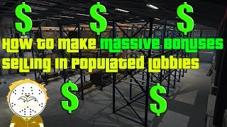 GTA Online How To Make Massive Bonuses Selling In Populated Lobbies, High Demand Bonus Explained