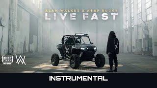 Alan Walker X A$AP Rocky   Live Fast (Instrumental)