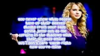 Ours By Taylor Swift -Lyrics-