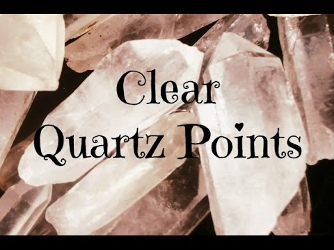 Video ????Ways to Use a Clear Quartz Point????