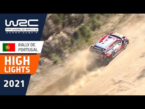 WRC 2021 第4戦ラリー・ポルトガル SS12-SS14ハイライト動画