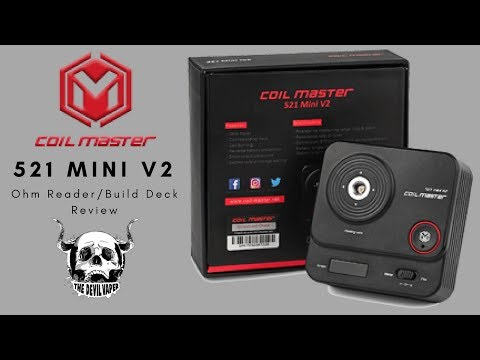 YouTube Video zu Coil Master 521 mini Tab V2 Multifunktions-Wickelstständer