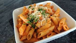 Red Sauce Pasta Recipe – Restaurant Style – Vegan Recipe by (HUMA IN THE KITCHEN)