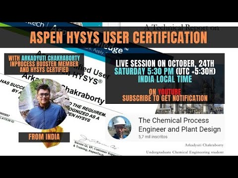 How to Get Aspen HYSYS Certification for FREE - YouTube