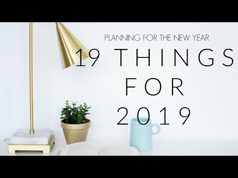 19 Things for 2019