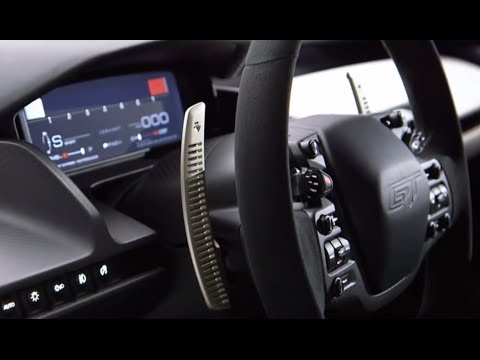 2016 Ford GT INTERIOR All New Ford GT 2015 DETROIT NAIAS Commercial CARJAM TV 4K 2015