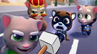 Том за золотом #25 - Челенж 3 Тома - игровой мультик для детей. Tom and Angela kids games!