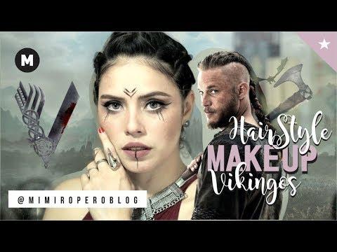 Maquillaje y Peinado para cabello corto #Vikingos / Vikings #MakeUp Hairstyle  - Mimiropero Blog