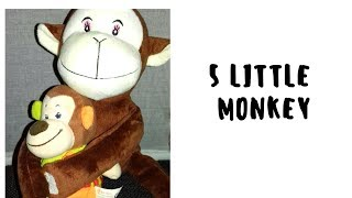 Five Little Monkeys Jumping On The Bed |Kids Song |Nursery Rhymes