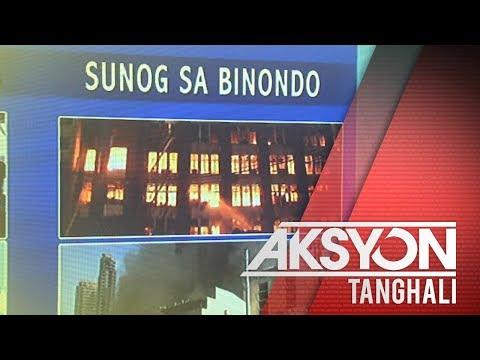 [News5]  Apat na gusali, nasunog sa Binondo, Maynila