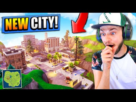 *NEW* CITY FOUND in Fortnite: Battle Royale! (HUGE UPDATE)