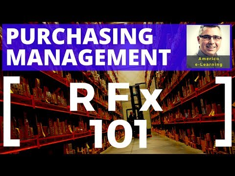 RFP, RFQ, RFI, whaaat? Learn quickly, get a job in corporate purchasing, and succeed in SCM careers