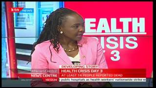 NewsCenter: Health crisis with Clinical officers now joining the strike 7/12/2016