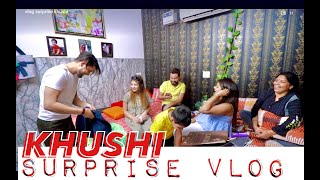 Surprise For Khushi | Vivek Choudhary | Khushi punjaban  IMAGES, GIF, ANIMATED GIF, WALLPAPER, STICKER FOR WHATSAPP & FACEBOOK