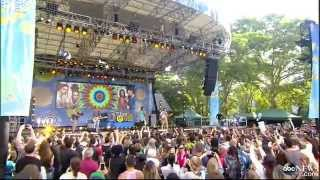 Magic - Rude ( Live GMA )