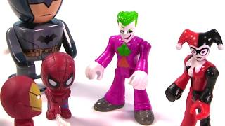 Marvel & DC Comics SUPERHEROES Toy Surprise Blind Box Show!, Batman -   IRL