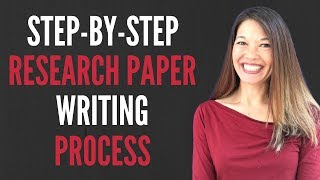 My Step by Step Guide to Writing a Research Paper