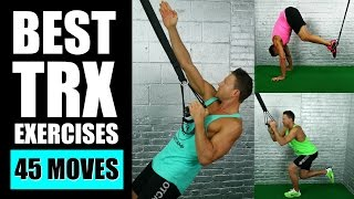 45 BEST TRX EXERCISES EVER | Best TRX Exercises For Arms, Abs, Legs Suspension Training Workouts by Max's Best Bootcamp
