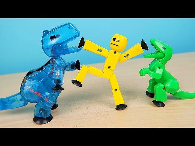 Фігурка Для Анімаційної Творчості Stikbot Dino