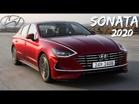 Novo Hyundai Sonata 2020 - Nova geração em detalhes | Top Carros