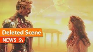 Why Major Tony Stark Scene was Deleted from Avengers Endgame