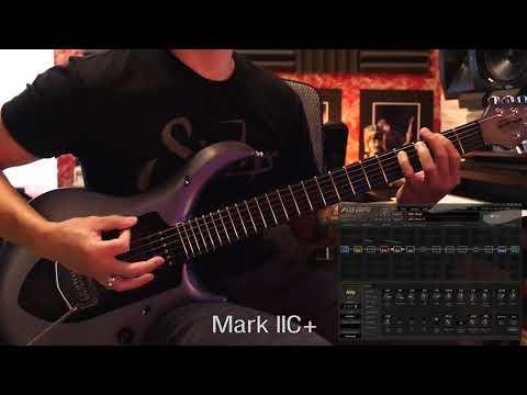 FRACTAL AUDIO AXE-FX II vs Mesa/boogie Mark V compare  - смотреть