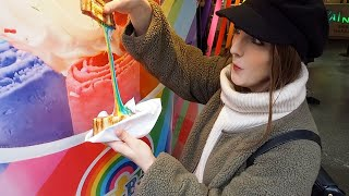 INSTAGRAM STREET FOOD in HARAJUKU, JAPAN 🍡 .. Is it WORTH it??