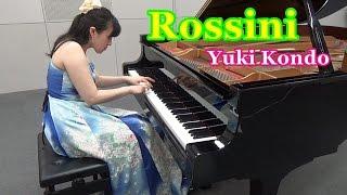 ウィリアム・テル序曲よりロッシーニピアニスト近藤由貴/Rossini:WilliamTellOvertureFinalePianoSolo,YukiKondo