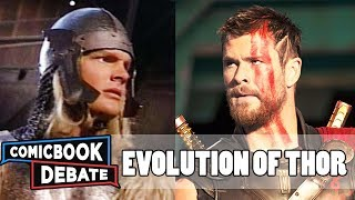 Evolution of Thor in Movies & TV in 5 Minutes (2017)