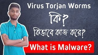 What is Malware? Virus, Trojan, Worms - Explained in Bangla - BD Tech