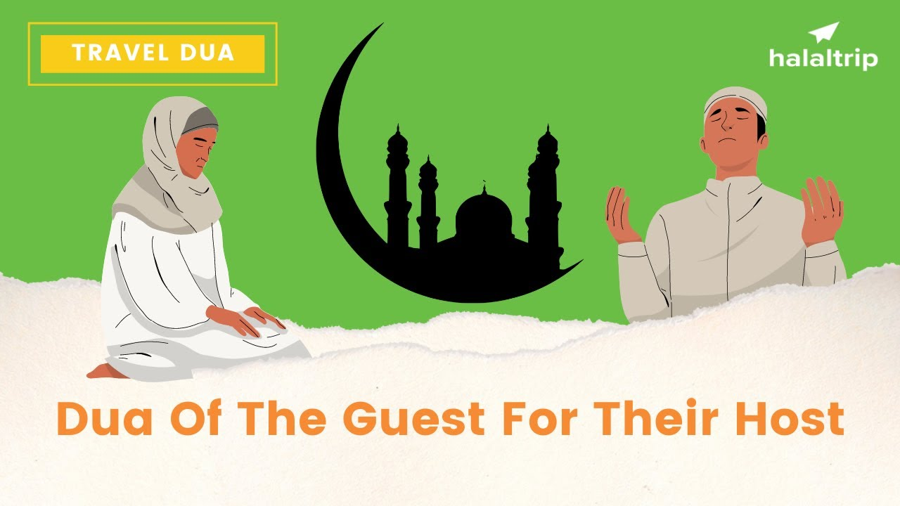 Dua of the Guest for Their Host