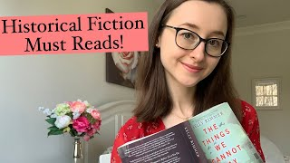 10 BOOKS YOU NEED TO READ   Historical Fiction Must-Reads For Your Quarantine!