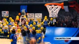 5 Greatest NBA Finals Moments Legoized