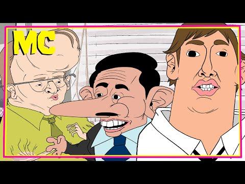 A Regrettable Office Cartoon
