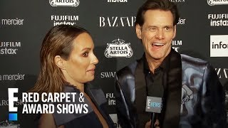 Jim Carrey Sounds Off on Icons and More at NYFW 2017 | E! Red Carpet & Live Events